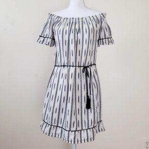 Just Live Off-Shoulder Boho Dress